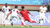 越南-約旦比賽一瞥。