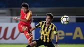 中國 2-0 勝馬來西亞。