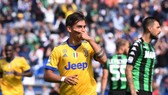 Paulo Dybala lập hat-trick thứ 2 mùa này, ghi 8 bàn trong 4 trận, đánh dấu 100 lần khoác áo Juve. Ảnh: Getty Images.