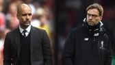 Pep Guardiola (Manchester City) và Jurgen Klopp (Liverpool)