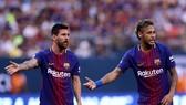 Messi và Neymar ở Barcelona.