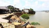 環瑙河坍塌現場。(資料圖來源:越通社)