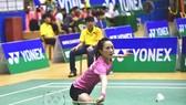 Vũ Thị Trang tiếp tục thắng tại chung kết đơn nữ. tác giả: LÊ ĐỨC NGHĨA