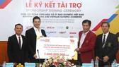 Đoàn thê thao Việt Nam dự SEA Games 2017 có thêm 1 tỷ tài trợ. tác giả: NGỌC HẢI