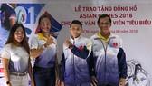 Các VĐV tiêu biểu tham dự Asiad 2018 tại TPHCM quyết tâm giành huy chương