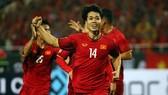 Công Phượng tiếp tục bùng nổ ở trận gặp Malaysia. Ảnh: MINH HOÀNG