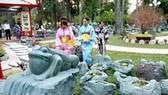 Vườn Nhật Bản tại Hội hoa xuân 2009: Hồn của đá