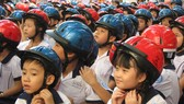 British Council combines English class with traffic safety lessons