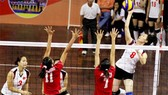 Women's volleyball national squad put on edge of loss in Vietsovpetro Cup