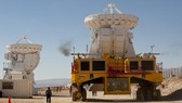 In Chile desert, huge telescope begins galaxy probe