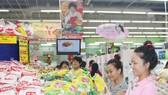 TPHCM: Nhiều siêu thị tăng doanh số từ 30% đến 50% trong tháng khuyến mãi