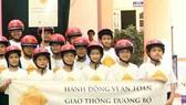 Campaign instills wearing of helmets compulsory for children