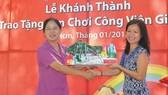 Unilever trao tặng sân chơi cho trẻ em: Nỗ lực vì sự phát triển toàn diện của trẻ