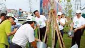 """200 cây Giáng  hương đã được trồng do """"Quỹ 1 triệu cây xanh cho Việt Nam"""" tài trợ"""