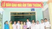 Công ty Ajinomoto Việt Nam trao  21 căn nhà tình thương cho các hộ khó khăn