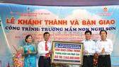 PTSC tài trợ thực hiện các công trình an sinh xã hội tại Thanh Hóa