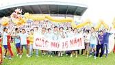 HVG tiếp tục đồng hành với đội bóng An Giang