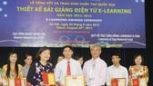 184 bài giảng điện tử đoạt giải thưởng cấp quốc gia
