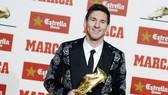 Lionel Messi nhận giải thưởng Chiếc giầy vàng Châu Âu 2012-2013