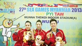 Female wushu athlete earns first gold medal for Vietnam