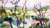 Bộ ký họa lý thú của họa sĩ Nguyễn Cao Thương