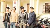 Hà Tĩnh: Triệt phá băng trộm cắp xe máy hàng loạt