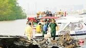 Cháy tàu cánh ngầm, hơn 90 người thoát chết