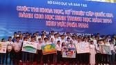 Cần Thơ: 283 học sinh tham gia cuộc thi Khoa học kỹ thuật cấp Quốc gia