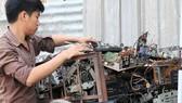 Rác thải điện tử gây hại sức khỏe, môi trường