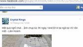 Lập facebook để quản lý đô thị