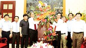 City leaders congratulate press agencies on Vietnam Revolutionary Press Day