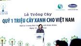 Quỹ 1 triệu cây xanh cho Việt Nam trồng cây xanh tại Đồi Độc Lập – Điện Biên Phủ