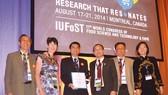 Vinamilk đoạt giải thưởng công nghiệp thực phẩm toàn cầu IUFoST 2014