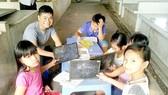 Lớp học trong chợ