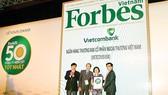 Vietcombank được vinh danh là công ty niêm yết tốt nhất Việt Nam