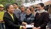 Quảng Bình: Taxi Tiên Sa hỗ trợ nạn nhân cháy chợ Ba Đồn
