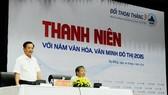 Lãnh đạo thành phố Đà Nẵng đối thoại với thanh niên
