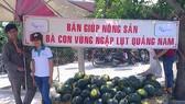 Tấm lòng với nông dân trồng dưa hấu