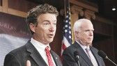 Thượng nghị sĩ John McCain và Rand Paul tuyên bố tranh cử vào năm 2016