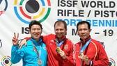 Hoàng Xuân Vinh giành HCĐ chung kết 50m súng ngắn