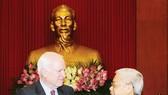 Tổng Bí thư Nguyễn Phú Trọng tiếp đoàn Thượng nghị sĩ Hoa Kỳ