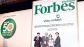 Vietcombank 3 năm liên tiếp được Tạp chí Forbes bình chọn Top 50 công ty niêm yết tốt nhất Việt Nam