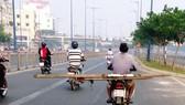 Đủ kiểu vi phạm giao thông
