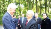 Tổng Bí thư Nguyễn Phú Trọng: Ông bà Clinton là những người bạn lớn của nhân dân Việt Nam