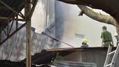 Cháy lớn thiêu rụi  một nhà cấp 4 tại quận Gò Vấp