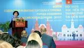 Nhộn nhịp các hoạt động xúc tiến tại Nga