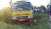 Hà Tĩnh: Hành khách hoảng loạn vì một người đàn ông tự ý nổ máy lái xe buýt