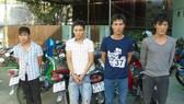 Bình Dương: Bắt nhóm trộm, cướp xe chuyên nghiệp