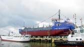 Hạ thủy và bàn giao tàu hút bùn cho Nga