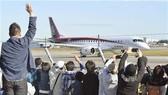 Máy bay thương mại đầu tiên của Nhật Bản cất cánh sau 50 năm
